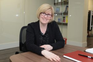 Carla Qualtrough, photographed in her constituency office. Photo:Ray Hudson