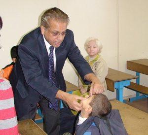 Dr Vadrevu Raju. Photo: Eye foundation of America website