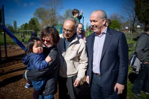 John Horgan Child care