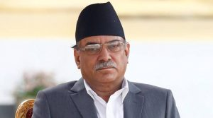 Nepal Prime Minister Pushpa Kamal Dahal Prachanda