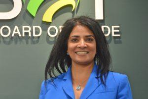 Anita Huberman, CEO Surrey Board of Trade, Hon. Captain, Royal Canadian Navy.