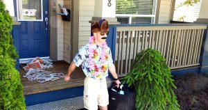 Cpl. Crisp leaving on vacation