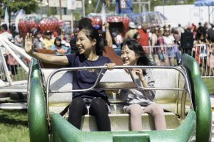 Surrey Canada Day kids on ride