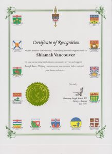 certificate of recognition 001