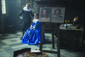 Photo: Christoph Waltz and Alicia Vikander in Tulip Fever, an Entertainment One release.