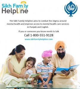 sikh family helpline