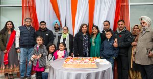 1 MP Jinny Sims at Cake Cutting Ceremony at Farm and Spice Grand OPening