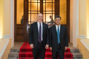 Premier Horgan and Governor of Guangdong Ma Xingrui