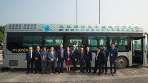 Premier Horgan and delegation visited Ballard