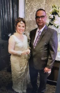 Jaspal Atwal with Sophie