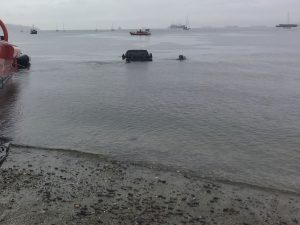 Truck-in-water-at-Kits-Beach