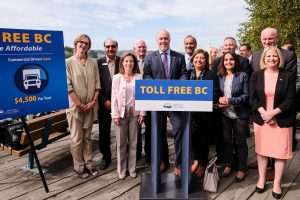 Drivers in the Lower Mainland soon will be paying less to get around as the British Columbia government is eliminating tolls on the Port Mann and Golden Ears bridges in time for the Labour Day Weekend, Premier John Horgan announced.  Learn more: https://news.gov.bc.ca/releases/2017PREM0073-001480