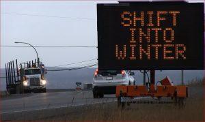 Winter shift